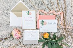 Southern Wedding Inspiration from Paper 'N More. #weddinginvitations