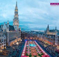 راهنمای سفر به بروکسل بلژیک (شهر شکلاتی)