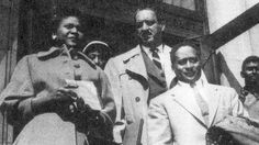 """Autherine J. Lucy became the first Black student to attend the University of Alabama on February 3, 1956.     However, three days later she was expelled, as what was referred to for """"her own safety"""" in response to threats.     In 1992, Autherine Lucy-Foster graduated from the University with a master's degree in education. That same day her daughter, Grazia Foster, graduated with a bachelor's degree in corporate finance."""