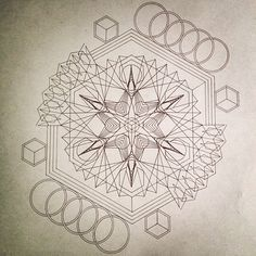 sacred geometry art - Google Search