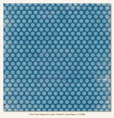 Papier 30x30cm - My Mind's Eye - Lime Twist - Perfect - Lines - 1018 Na-Strychu