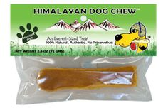Himalayan Dog Chew - made from hardened Yak milk. Milk in its raw form is difficult for dogs to digest but once the milk is made into cheese it is easily digested. They are digestible, long-lasting, hard but not too hard, low-odor, all natural, healthy, and non-staining. Perfect for teething puppies!