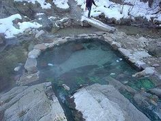 Heiße Quellen von Idaho: Trail Creek Hot Springs - Reisen Tips Road Trip Destinations, Vacation Places, Places To Travel, Places To See, Salt Lake City, New Mexico, Idaho Hot Springs, Outdoor Tub, Vietnam