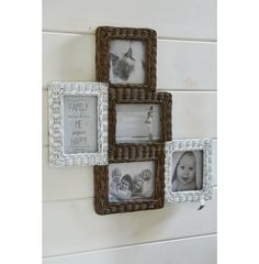 Rustic Rattan Photo Frame Collage - Coming Soon | Rivièra Maison