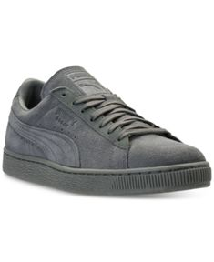 0b3490bd54f Puma Men s Suede Classic Tonal Casual Sneakers from Finish Line - Green  10.5 Suede Sneakers