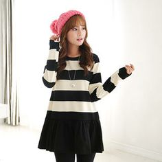 Buy 'CLICK – Stripe Ruffled Dress' at YesStyle.com plus more South Korea items and get Free International Shipping on qualifying orders.