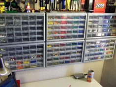 Stack On Storage Drawers For Lego