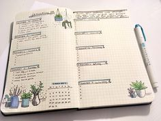 """studyteaaddict: """"Bujo spread: December 30-January 7 this spread was inspired by @studywithinspo This is my first bullet journal spread ever! My bujo tag is: #carolines bujo. """"Turn your sadness into strength. Use your anger to fuel your furious work..."""