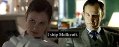 I love Sherlolly, but Mollcroft may be my OTP....it would defiantly be a very good second option