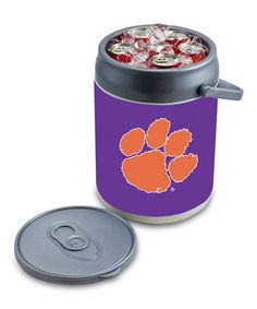 Take a look at this Clemson Can Cooler by Tailgate Essentials Collection on #zulily today!