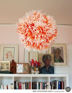 #DIY w/ coffee filters #dye #filters #coffee #party #decorations #simple #stunning