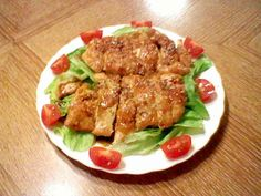 パリパリ☆しっとり♡鶏胸肉のステーキ♪の画像
