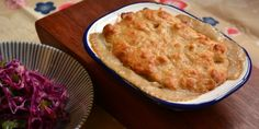 Chicken and mushroom cobbler pot pie