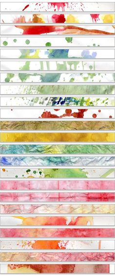 Water Color Textures II | Sadmonkeydesign 's Blog