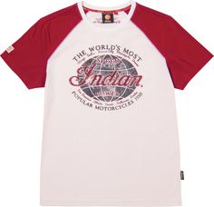 Heritage Globe T-Shirt Indian Motorcycle