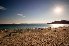 Montalvo beach in the Rías Baixas, Galicia