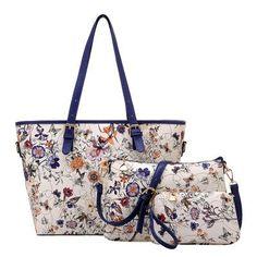Flower Pattern Design Bag Set