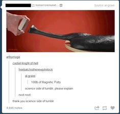 For some reason, I'm becoming less and less convinced that there is a science side to tumblr... - Imgur