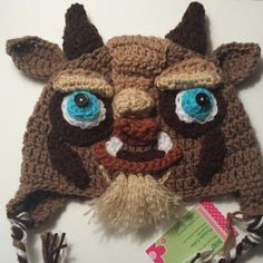 """Check out this """"Beastly"""" new Beast hat :)"""