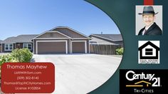 Hayden Homes 4 Bedroom 2 Bath house in Three Rivers Crossing subdivision  https://gp1pro.com/USA/WA/Franklin/Pasco/Three_Rivers_Crossing/6004_Robert_Wayne_Drive.html  Call Tom - (509) 302-7145. Well-cared for 1,556 SF 4-bedroom rambler located in wonderfu
