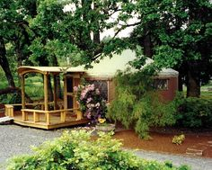 Pacific Yurts – Yurt Photo Gallery...doesn't this look calming?