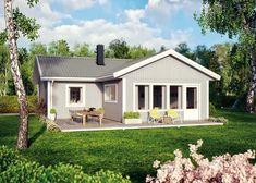 första Fjärden Planlösning Casa Loft, Cabins In The Woods, Cottage Image, Tiny House, House Plans, Shed, Outdoor Structures, Pergola, Houses