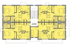 9 Apartment Building Ideas In 2020 Apartment Plans Apartment Floor Plans Residential Building Plan