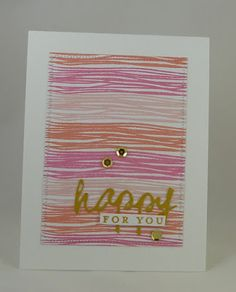 Cards-by-the-Sea: ColourQ #328....Happy for You