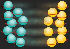 Elementary particles have a fundamental property called 'spin' that determines how they align in a magnetic field. MIT researchers have created a new physical system in which atoms with clockwise spin move in only one direction, while atoms with counterclockwise spin move in the opposite direction.