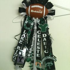 Homecoming garter Febs flowers baskets & stuff