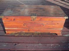 Vintage Cedar Chest, Solid Cedar Wooden Trunk Great For Storage, Seating And…