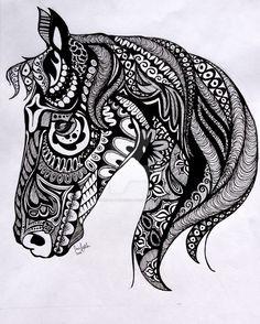 Tangle Horse by ginger--princess @ DeviantArt