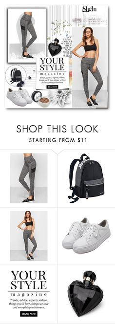 """Shein contest"" by frankazara ❤ liked on Polyvore featuring NIKE, WithChic, Folio, Pussycat and Lipsy"