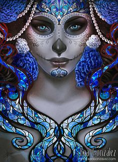 Blue Death by Bea-Gonzalez.deviantart.com on @deviantART