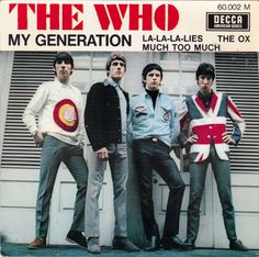 The Who - EP - My generation / La la la lies / The ox / Much too much - 1965