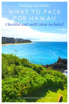 Things You Must Pack for Hawaii (Plus Printable List) Don't forget the. — The Sweetest Escapes Hawaii Vacation, Hawaii Travel, Solo Travel, Travel Usa, Hawaii Usa, Beach Vacations, Packing List For Travel, Packing Checklist, Packing Lists