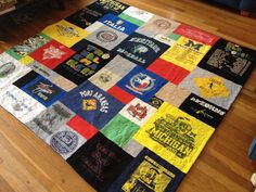 Custom tshirt quilt order for Angela
