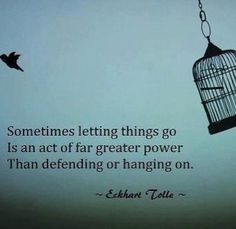 Letting Go  #quote