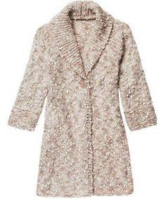 Veja o passo a passo para fazer um lindo casaco de tricô - Moda, Beleza, Estilo, Customizaçao e Receitas - Manequim - Editora Abril
