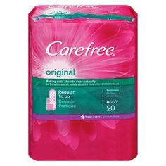 FREE Carefree Liners at Walgreens!