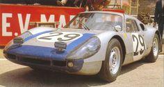 Porsche 904 Carrera GTS. Edgar Barth and Herbert Linge, Le Mans 1964.