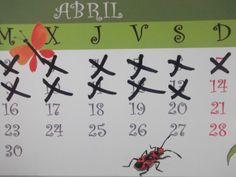 Su tiempo se mide por cruces en un calendario.
