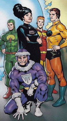 The original Legion of Substitute Heroes was a five-member team: Chlorophyll Kid, Fire Lad, Night Girl, Stone Boy, and Polar Boy, who conceived the idea of the Substitutes and served as team leader. All were Legion hopefuls who had tried out for the Legion, but were rejected due to their powers being considered too limited or otherwise inadequate.