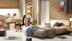 Teenagers Bedroom Interior Design