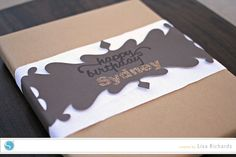 What a great idea, never thought of this. Gift Wrap Wrapper Designed by Lisa Richards using her Silhouette Freezer Paper Crafts, Packing Wrap, Silhouette Cutter, Gift Wrapping Paper, Wrapping Ideas, Silhouette America, Silhouette Cameo Projects, Craft Night, Vinyl Projects