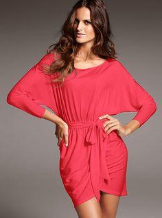 Dolman-sleeve Dress....purchasing this soon!