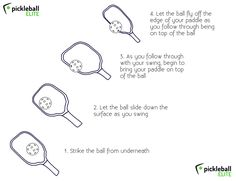 How to add spin to your #pickleball shot