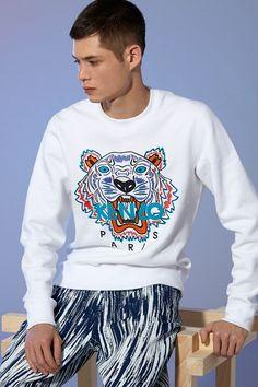 1e7fc08511 93 Best Kenzo images in 2018 | Kenzo sweater, Fashion men, Kenzo