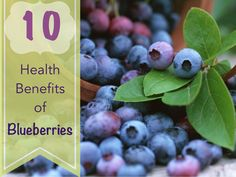 Top Ten Blueberry Health Benefits: Nutrition Facts About Blueberries