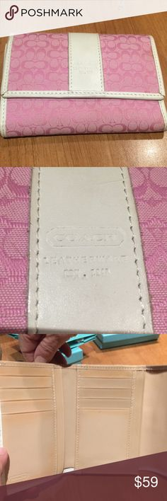 Coach wallet Coach wallet in great condition Coach Bags Wallets